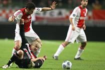 Fotbalisté Slavie uzavřeli své účinkování v pohárové Evropě zápasem v Amsterdamu. Remizovala s Ajaxem 2:2.