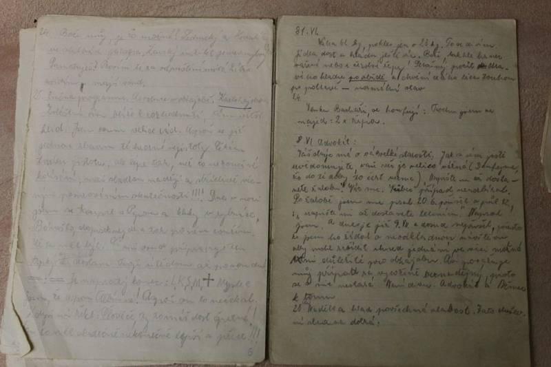 Žáci pátrali po deníku z koncentračního tábora popraveného odbojáře. Deník je ztracen, text se zachoval