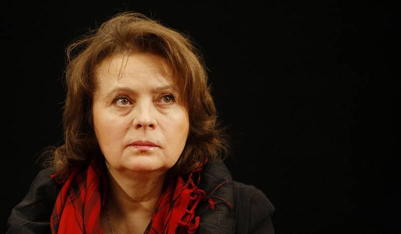 Libuše Šafránková při představení pohádky Micimutr