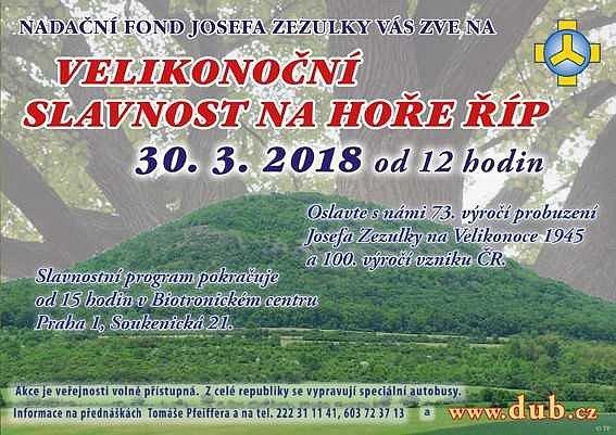 akce na Hoře Říp