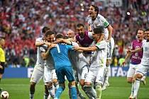 Ruská euforie po postupu do čtvrtfinále.