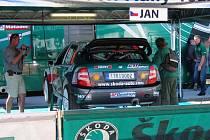 Zdá se, že Fabia WRC je u Kopeckých ve správných rukou.