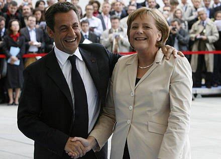 Merkelová a Sarkozy zdůrazňují vzájemné přátelství