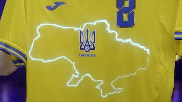 Nový ukrajinský dres pobouřil Rusko.
