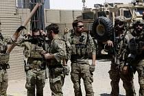 Američtí vojáci v Sýrii