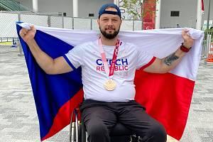 Aleš Kisý obsadil na paralympijských hrách třetí místo ve vrhu koulí.