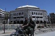 Zničené městou Doumá, ilustrační foto.