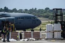 Americká humanitární pomoc pro Venezuelu v kolumbijské Cúcutě