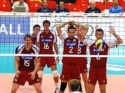 Členem reprezentačního týmu volejbalistů je také odchovanec Jihostroje Ondřej Hudeček