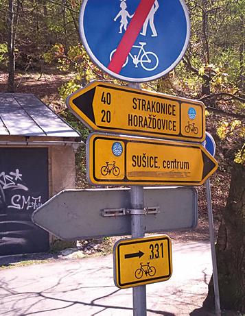 Na trase cyklotrasy