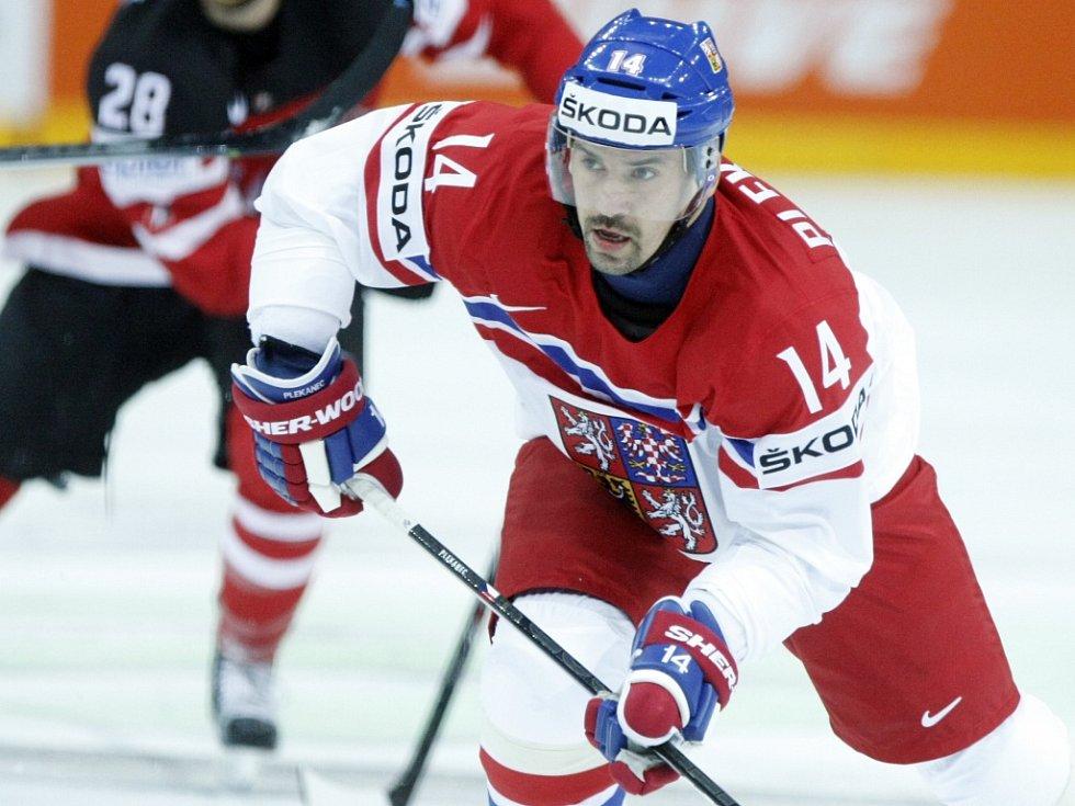 Tomáš Plekanec proti Kanadě.