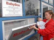 Babybox v Ústí nad Orlicí.