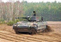 Bojové vozidlo BVP PUMA.