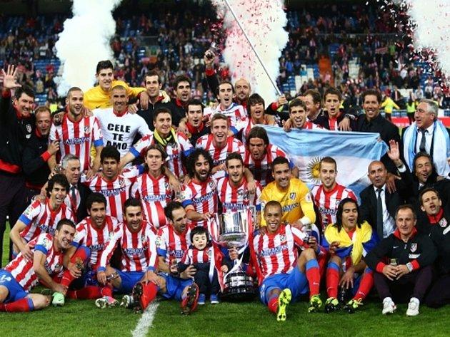 Fotbalisté Atlétika Madrid vyhráli Španělský pohár.