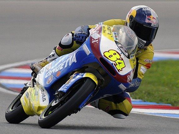 Český jezdec v třídě Moto3 Jakub Kornfeil.