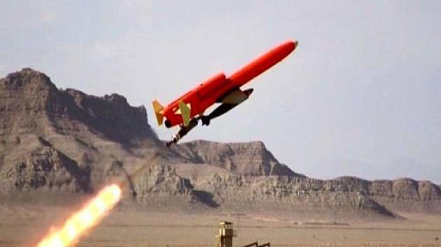 Bezpilotní letadelo v severozápadním Pákistánu u hranic s Afghánistánem.