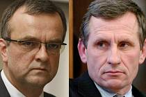 Kdo zůstane ve vládě: Miroslav Kalousek nebo Jiří Čunek?