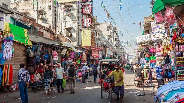 Indické Dillí se brzy stane nejlidnatějším městem na světě.