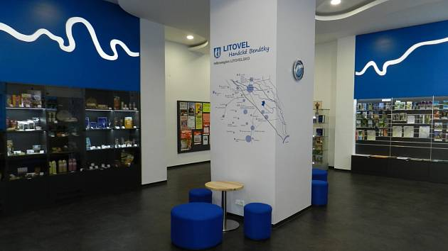 Turistické informační centrum v Litovli.