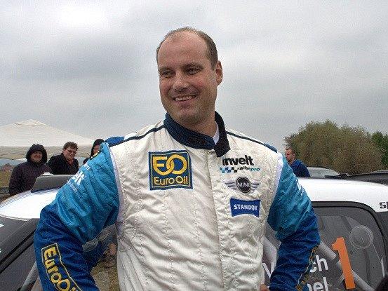 Závodník Václav Pech.