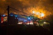 požár v Dalmácii, ilustrační foto