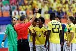 Carlos Sánchez dostává druhou nejrychlejší červenou kartu v historii MS