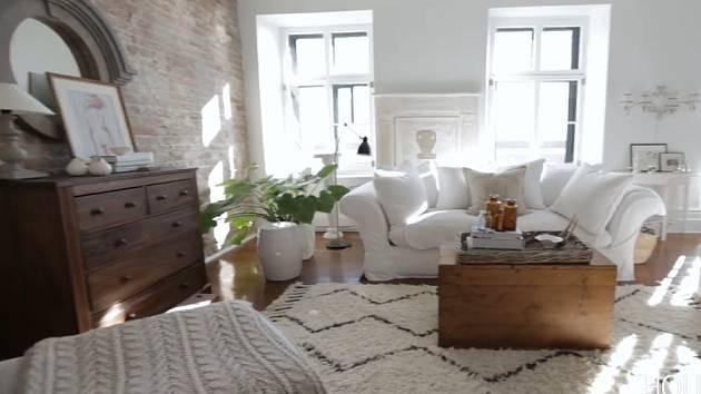 Bílý apartmán v Montrealu