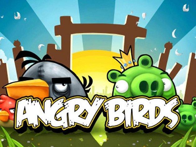 Počítačová hra Angry Birds.