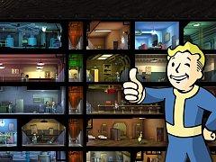 Počítačová hra Fallout Shelter.