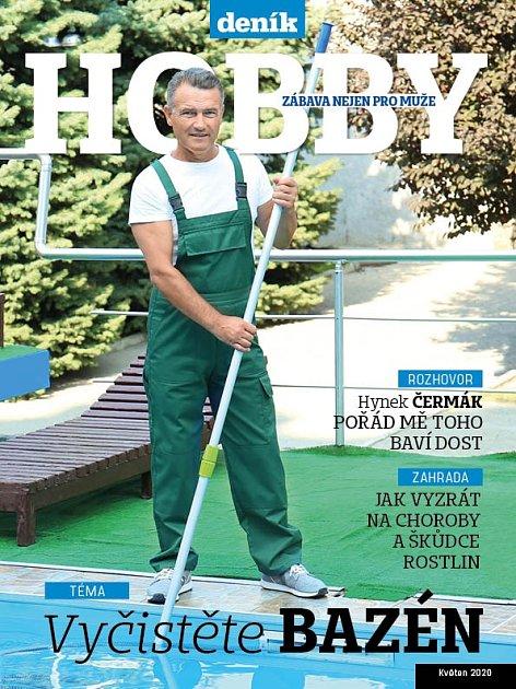 Titulní strana magaínu Hobby