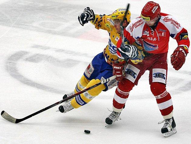 Hokejisté Budějovic si poradili se Zlínem.