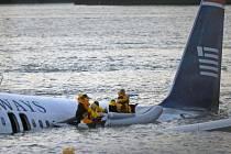 Letadlo přistálo na Hudsonu