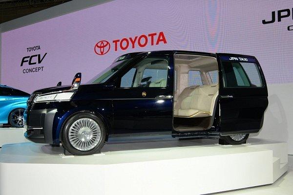 Toyota JPN Taxi.