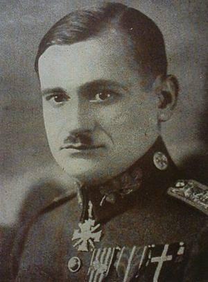 Velitel Legie Čechů a Slováků Lev Prchala