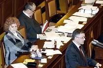 Poslanec Juraj Raninec hovoří k poslancům