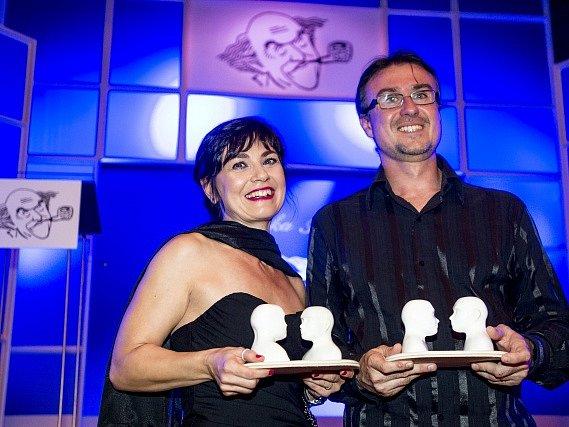 Jana Štvrtecká a Filip Jančík získali 17. září v Přelouči na Pardubicku Cenu Františka Filipovského za nejlepší ženský a mužský herecký výkon v dabingu.