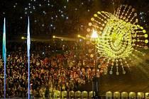 Zahájení paralympijských her v Brazílii