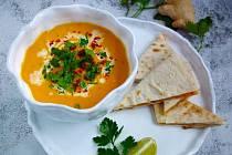 Krémová polévka z mrkve