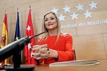 Premiérka autonomního regionu Madrid Cristina Cifuentesová