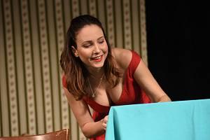 Veronika Arichteva v divadelní hře Liga proti nevěře