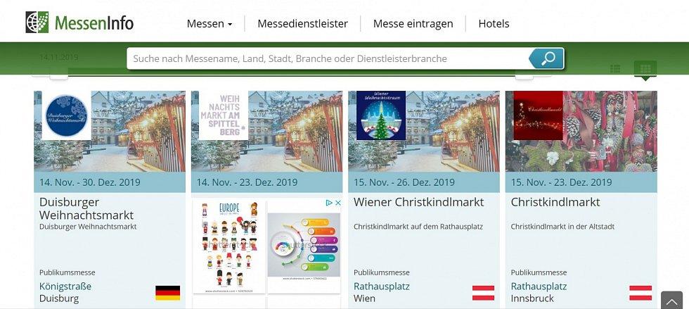 """Pojem vánoční či """"ježíškovské"""" trhy se běžně objevuje i v přehledu německých trhů jako celku"""