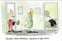 Manžel chce hubnout... Budete za něj cvičit.