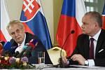 Miloš Zeman se sešel s Andrejem Kiskou