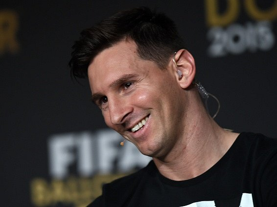 Zlatý míč 2015: Lionel Messi