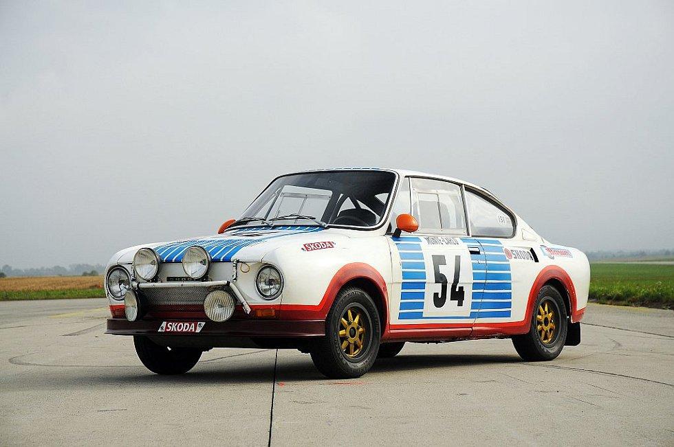 Škoda 130 RS, soutěžní provedení.