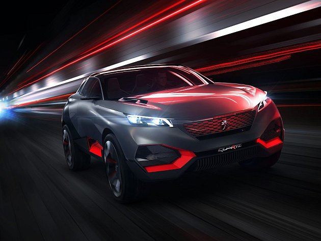 Koncept Peugeot Quartz.