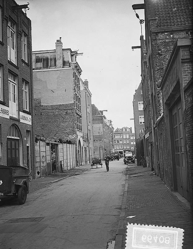 Amsterdamské ghetto v 50. letech minulého století