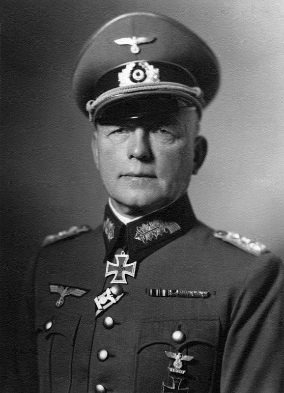 Německý polní maršál Paul Ludwig Ewald von Kleist