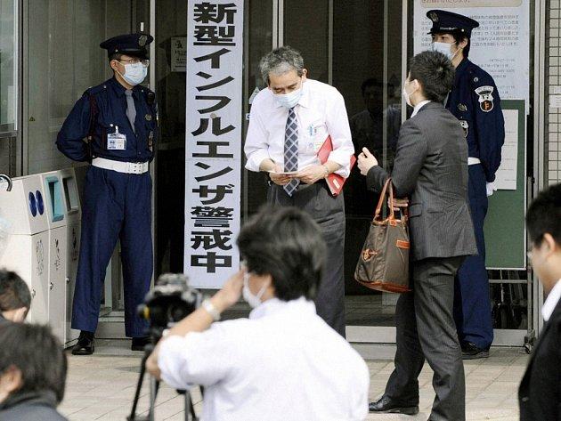 První případy tak zvané prasečí chřipky se objevily i v Japonsku
