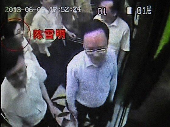 Nahrávka z bezpečnostní kamery hotelu usvědčuje soudce z návštěvy klubu.